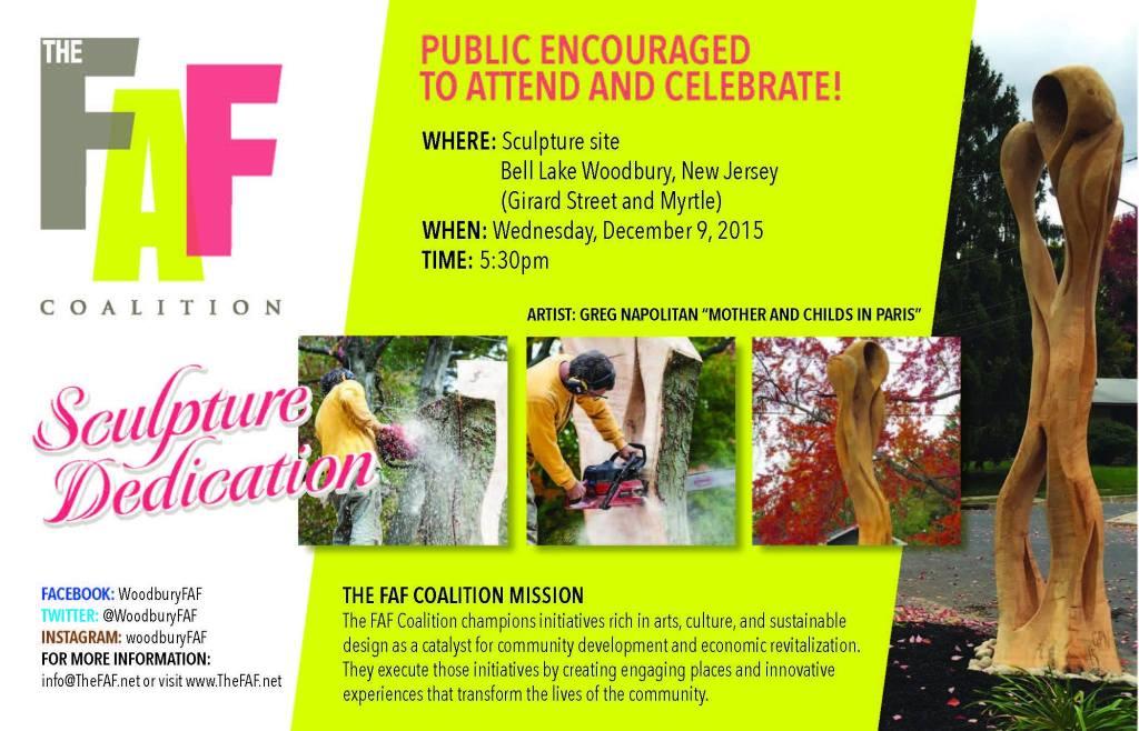 sculpture dedication invite