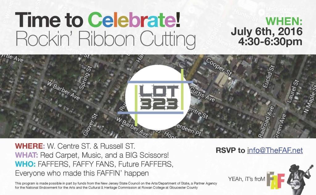 LOT 323 Ribbon Cutting